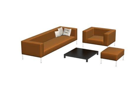living furniture in 3d studio max drawing bibliocad
