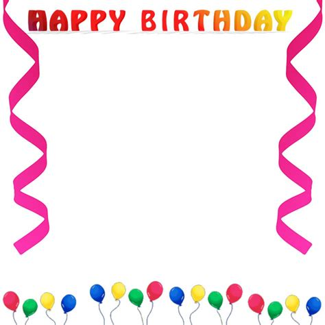 Free Birthday Borders Happy Birthday Borders Free Printable Birthday Borders And Frames