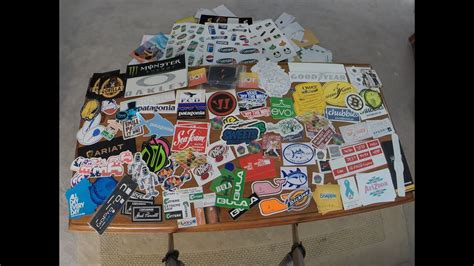 Aufkleber Gratis Bekommen by Free Stickers Unboxing On Gopro 42 Companies 200