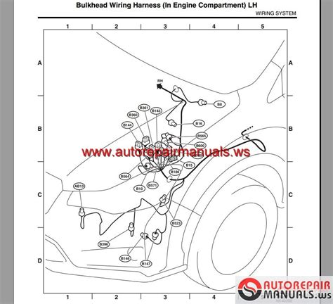 subaru horn wiring diagram free schematic car