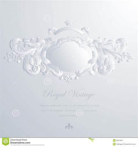 vintage elegant greeting card wedding invitation royalty