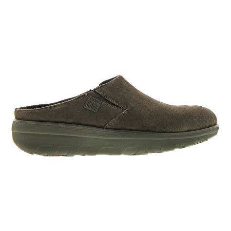 suede clogs for fitflop loaff suede clogs grey womens shoes