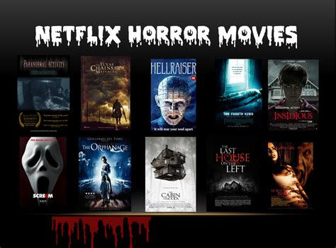 horror netflix the top 100 best scary to scary website