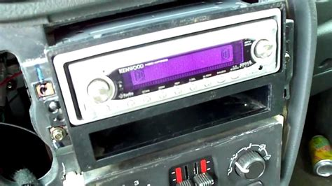 aftermarket radio install  chevrolet trailblaz youtube