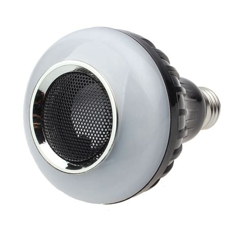 e27 8w led light bulb l bluetooth audio speaker