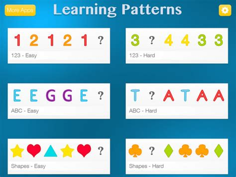 pattern recognition ideas app shopper learning patterns pattern logic game for