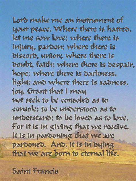 prayer of st 17 best images about st francis of assisi on