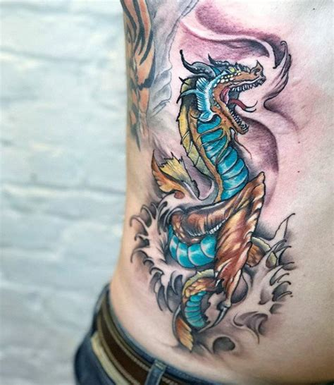 30 loch ness monster tattoo designs for men mythological