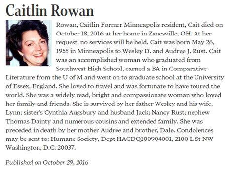 The Obituary mysteries on the obituary page newscut minnesota