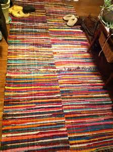 cheap rag rug rag rugs sewn together source unknown textiles