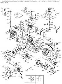 tecumseh h35 45618s parts diagram for engine parts list 1