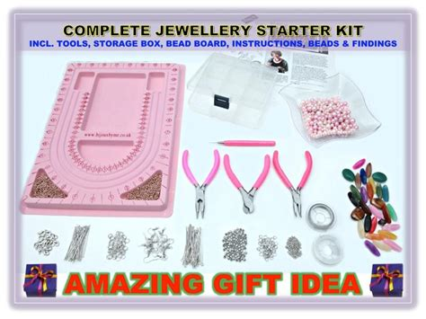 jewelry kits for beginners jewellery beginner starter kit with tool findings