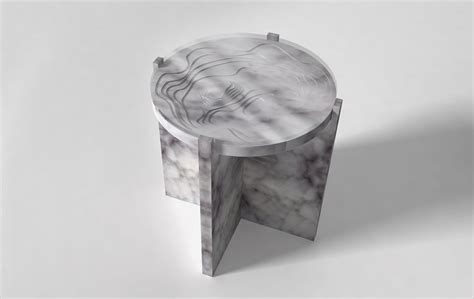 Maison Sud Furniture by Quot Sud Quot Marble Side Table From The Geo Collection By Maison