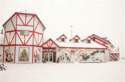 santa claus house north pole ak giving quot north quot new meaning