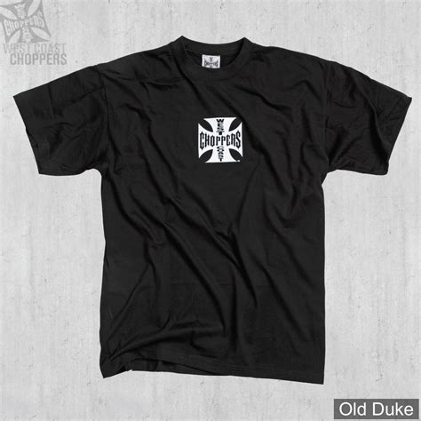 Tshirt Cross B C shirt west coast choppers wcc og cross lbc noir
