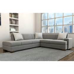 boxter modern sectional simple contemporary sofa modern