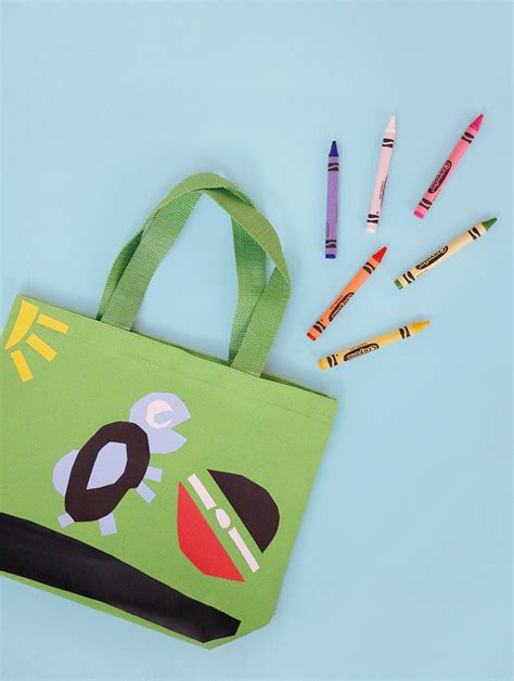bag craft craft idea easy and mess free tote bag craft