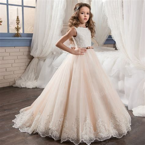 Flower Dresses For Wedding by Prom Dress Children White Flower Dresses For Wedding