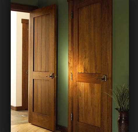 Timber Interior Doors Rustic Wood Interior Doors