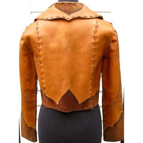 Handmade Leather Jacket - vintage handmade leather jacket america suits
