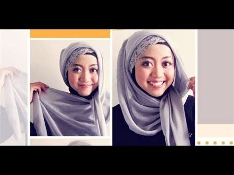tutorial jilbab pashmina pelangi 29 best tutorial images on pinterest