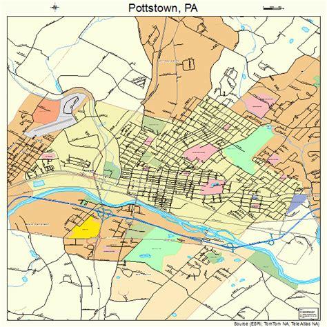 Pottstown Pa pottstown pennsylvania map 4262416