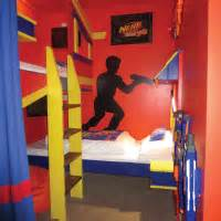 Nerf zone themed room the gullivers hotel warrington