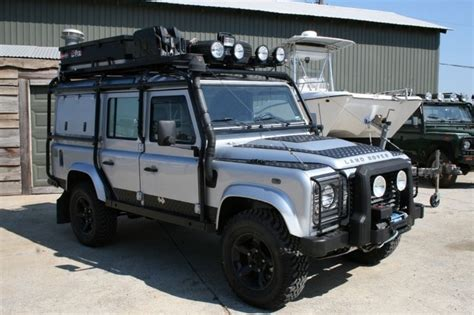 land rover 110 overland land rover defender 110 very well sorted for overland