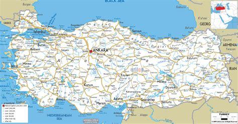map turkey turkey road map transportation map of turkey