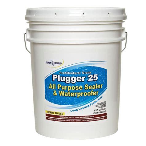 Acrylic Sealer guard plugger 25 5 gal surface solids acrylic sealer