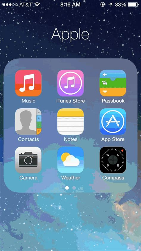 animated wallpaper iphone ios 7 a visual walkthrough of ios 7 with gifs cult of mac