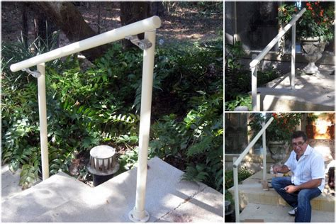 outside banister railings easy to install outdoor stair railing