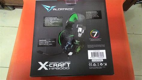Headsed Gaming X Craft Hp 8000 Usbled jual beli headset gaming sonicgear x craft hp8000