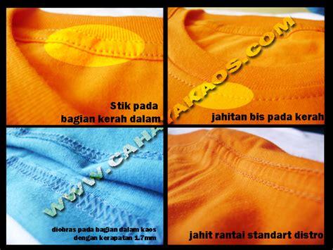Kaos Details kaos polos cahaya kaos polos