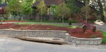 Raised Garden Bed Base - building a diy block retaining wall today s homeowner