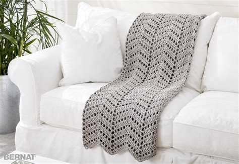 crochet pattern maker free bernat ripples in the sand crochet afghan crochet pattern