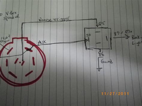 back up trailer lights wiring wiring diagrams wiring