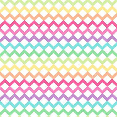 cute chevron pattern cute retro chevron seamless pattern stock vector