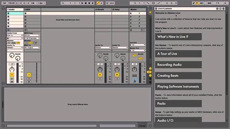 c tutorial audio ableton live tutorial part 8 optimizing your audio