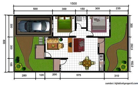 Multimeter Yang Bagus gambar denah rumah minimalis ukuran 6x10 terbaru bagus
