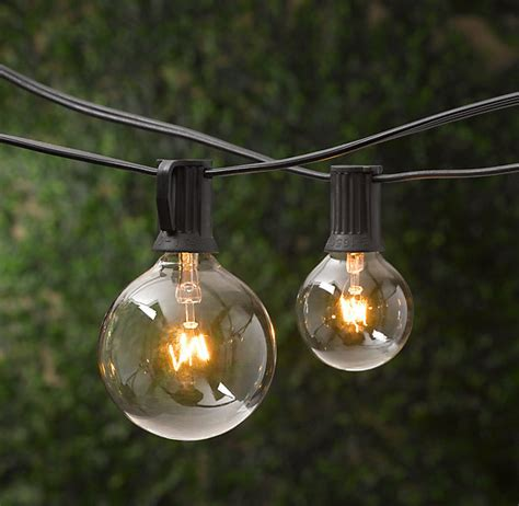 Outdoor Light Strands by Commercial Outdoor String Lights Strand 13 Extraordinary