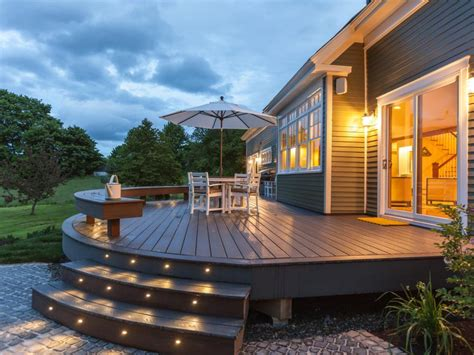Remodeling Backyard by 7 Stylish Deck Features Hgtv