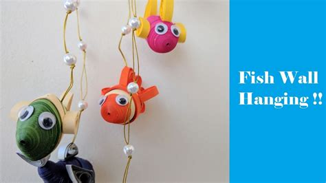How To Make A 3d Fish Out Of Paper - how to make paper fish wall hanging 3d diy