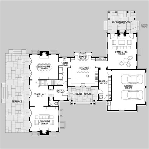 shingle style floor plans shingle style house plans shingle style house plans