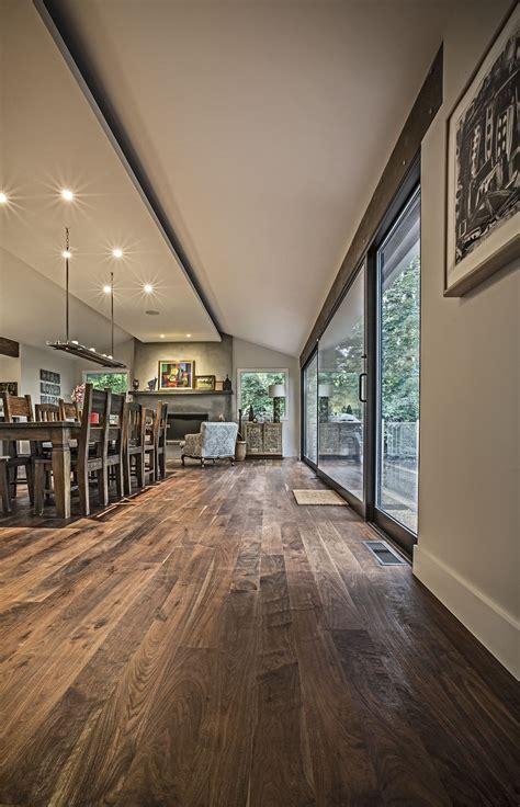 Pretty Walnut Flooring! No shiny coating!!   Interior Barn