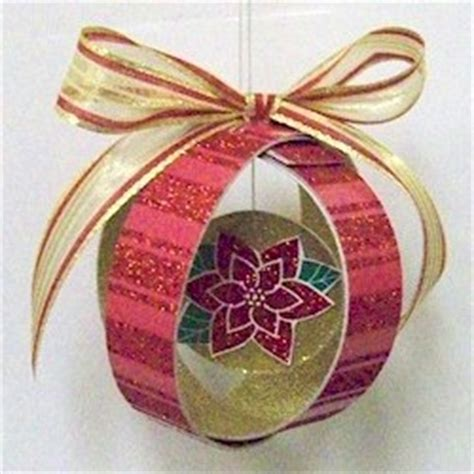 Paper Ornament Crafts - paper loop ornament family crafts