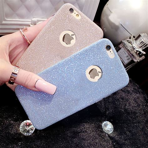 For Iphone 5 5s Soft Luxury Bling Glitter Shine new luxury ultra thin glitter bling cover for iphone 5 5s 6 6s 6 plus
