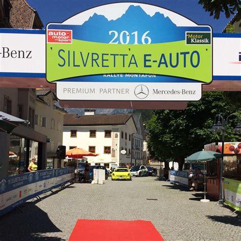 Silvretta E Auto Rally by Silvretta E Auto Classic Rallye 2016 Motorblock
