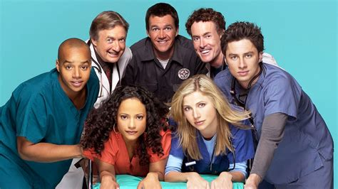 tv show scrubs sitcom castmembers reunite for easter canceled