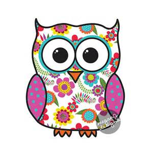 colorful owls colorful floral owl car decal sticker owl bumper sticker